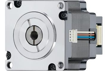 drylin® E lead screw stepper motor with stranded wire and encoder, NEMA 23, short type