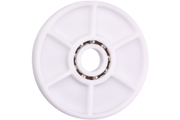 xiros® skate wheel, xirodur B180, stainless steel balls, mm